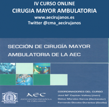 IV CURSO  - CIRUGÍA MAYOR AMBULATORIA