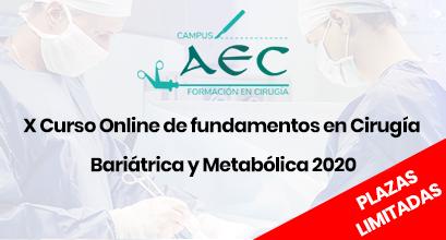 X Curso Online de fundamentos en Cirugía Bariátrica y Metabólica 2020